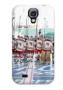 Premium Galaxy S4 Case - Protective Skin - High Quality For New York Rangers Hockey Nhl (76)