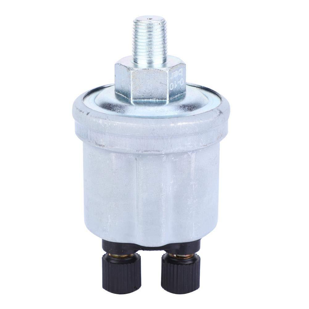 1//8-27 NPTF Sensor de presi/ón de aceite Unidad del emisor del sensor de presi/ón de aceite de rosca 0-10 Bar Para modelos VDO