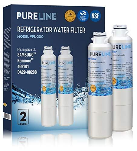 Water Accessories Filter Element (Samsung DA29-00020B Compatible Water Filter - Refrigerator Also fits DA29-00020A,HAF-CIN EXP (2 Pack))