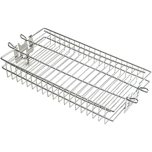Fire Magic Grill Baskets - Fire Magic Stainless Steel Flat Rotisserie Basket - 3618