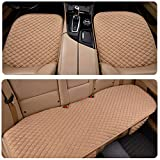 Psler Car Universal Interior Flax Seat Cover