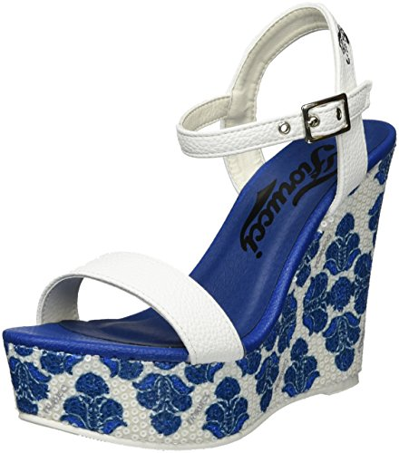 Fiorucci Feei062 - Tacones Mujer azul (Blu)