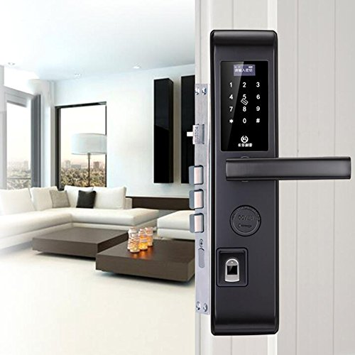Digital Door lock Biometric Fingerprint Smart Code Keyless L