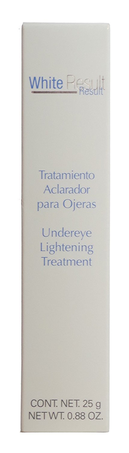 Amazon.com: White Results Tratamiento Aclarador para Ojeras Undereye Lightening Treatment 25 g / 0.88 oz: Beauty