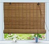 Asian Home Bamboo Roll Up Window Blind Sun Shade