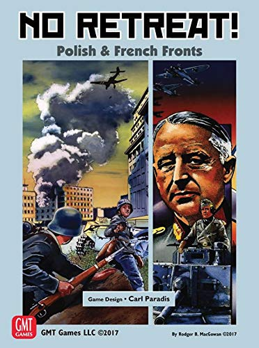 No Retreat: Vol 3: Polish and French Cam (No Retreat Board Game)