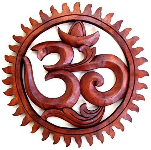 om-wall-hanging-om-statue-wooden-wall-decor-inspirational-peace-wood-carving-collectors-item-large-s