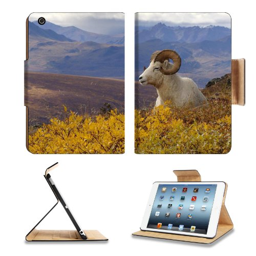Dall Sheep Ovis Mountains Thinhorn Autumn Apple Ipad Mini Flip Case Stand Smart Magnetic Cover Open Ports Customized Made To Order Support Ready Premium Deluxe Pu Leather 8 Inch (205Mm) X 5 1/2 Inch (140Mm) X 11/16 Inch (17Mm) Liil Ipad Mini Professional Ipadmini Cases Ipad_Mini Accessories Graphic Background Covers Designed Model Folio Sleeve Hd Template Designed Wallpaper Photo Jacket Wifi 16Gb 32Gb 64Gb Luxury Protector