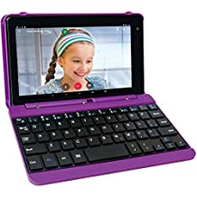 RCA Voyager Pro 7 16GB Tablet with Keyboard Case Android 6.0 (Marshmallow) in Purple (RCT6873W42KC M)