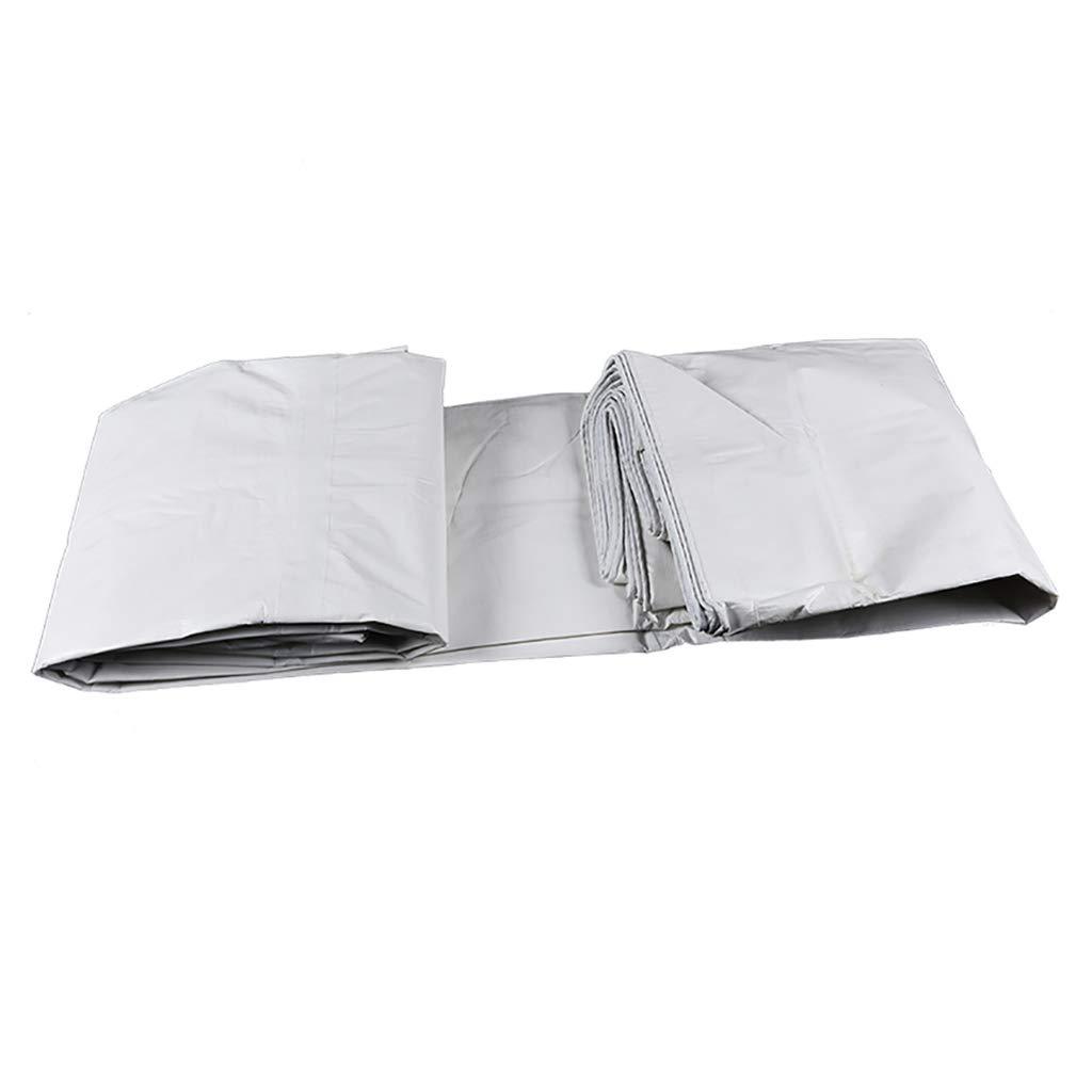 Gewebeplane PE Pengbu Doppelter Weißer Regensonnenschutz Sonnenschutz Wasserdichte Plane Auto Wagen Markise Tuch 140G   M2 Plane Zum Abdecken