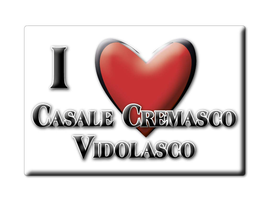 Enjoymagnets CASALE CREMASCO-VIDOLASCO (CR) Souvenir IMANES DE ...
