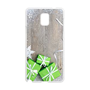 The Christmas Gift Box Hight Quality Plastic Case for Samsung Note4