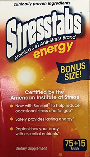 Stresstabs Anti Stress Energy Tablet 90 Tablets (Best Vitamins For Energy And Stress)