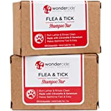 Wondercide Natural Flea & Tick Shampoo Bar Dogs & Cats to Kill & Repel Fleas 4oz Bar - 2 Pack