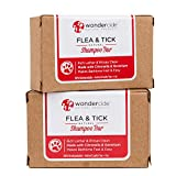 Wondercide Natural Flea & Tick Shampoo Bar Dogs & Cats to Kill & Repel Fleas 4oz Bar - 2 Pack