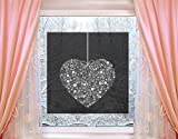 Window Mural Heart Giveaway window sticker window film window tattoo glass sticker window art window décor window decoration Dimensions: 56.7 x 56.7 inches