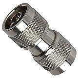 AMPHENOL RF 82-100-RFX RF/COAXIAL Adapter, N Plug-N Plug