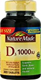 vitamin d3 nature made - Nature Made Vitamin D3, 1000 IU, Tablets, 300 CT (Pack of 2)