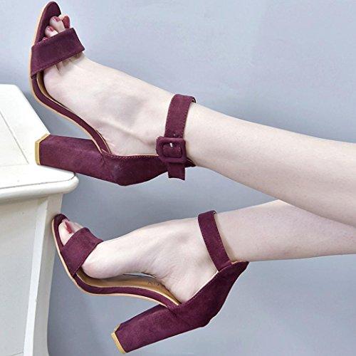 Sandales Ouvert Bout Chic Chaussure Été Talons Angelof à Sandales Femmes Parties Femme Grande Sandales pour Haut Vin SoiréE Taille Compensees Dames dnpqFBa