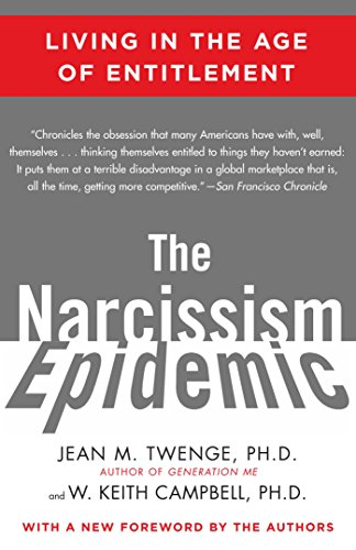 Narcissism Epidemic Living Age Entitlement ebook product image