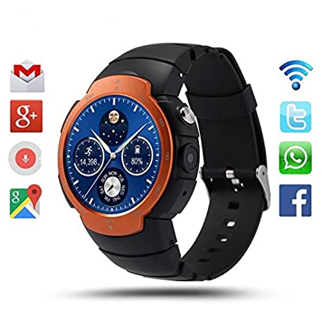 Amazon.com: Smart watches 3G wifi Smart Watch phone Android ...