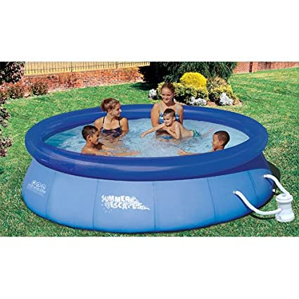 Summer Escapes 10-Feet-by-30-Inch Quick Set Ring Pool