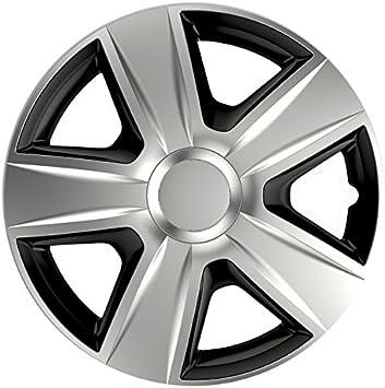Cm Design Radkappen 14 Zoll Esprit Dc Silber Schwarz Radblenden Radzierblenden Auto