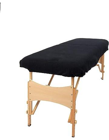 TowelsRus Aztex valor clásico cubierta Sofá de masaje Sin agujero en la cara Negro, elástico
