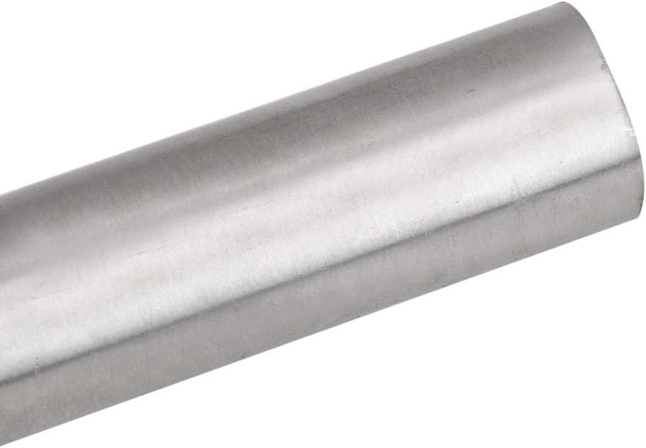 M7190930228 Yibuy plateado 10 tubos de acero inoxidable 304 para tubos capilares