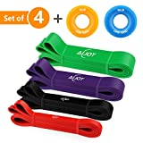 AiJoy Pull up Assist Bands Exercise Mobility Band Pull up Bands Set...