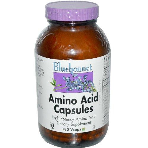 Bluebonnet Кошерный Аминокислоты 750 мг Молочные 180 Vcaps