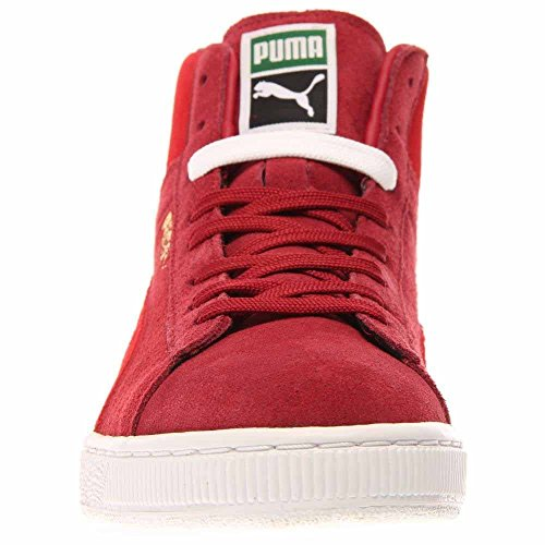Suede Risque Blanc À Haut Mid Puma Sneaker Rouge Classic Rio dRWw6Bq