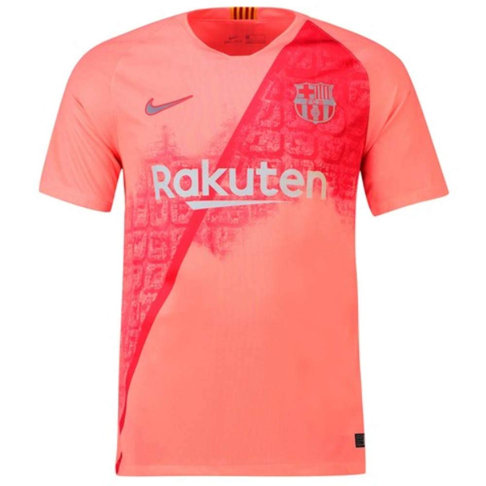 0de3c6030e6 Amazon.com : 2018-2019 Barcelona Third Nike Football Soccer T-Shirt Jersey  (Lionel Messi 10) : Sports & Outdoors