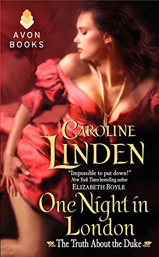 book cover of One Night in London