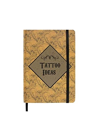 A5 Tattoo Ideas Hardback Notebook Gift Book Travel Journal Diary For