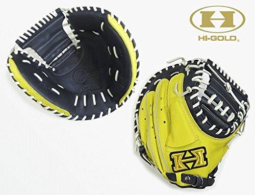 ◆ハイゴールド◆ソフトボール用キャッチャーミットベーシックカスタマーシリーズBSG-78M B071D8NCF4