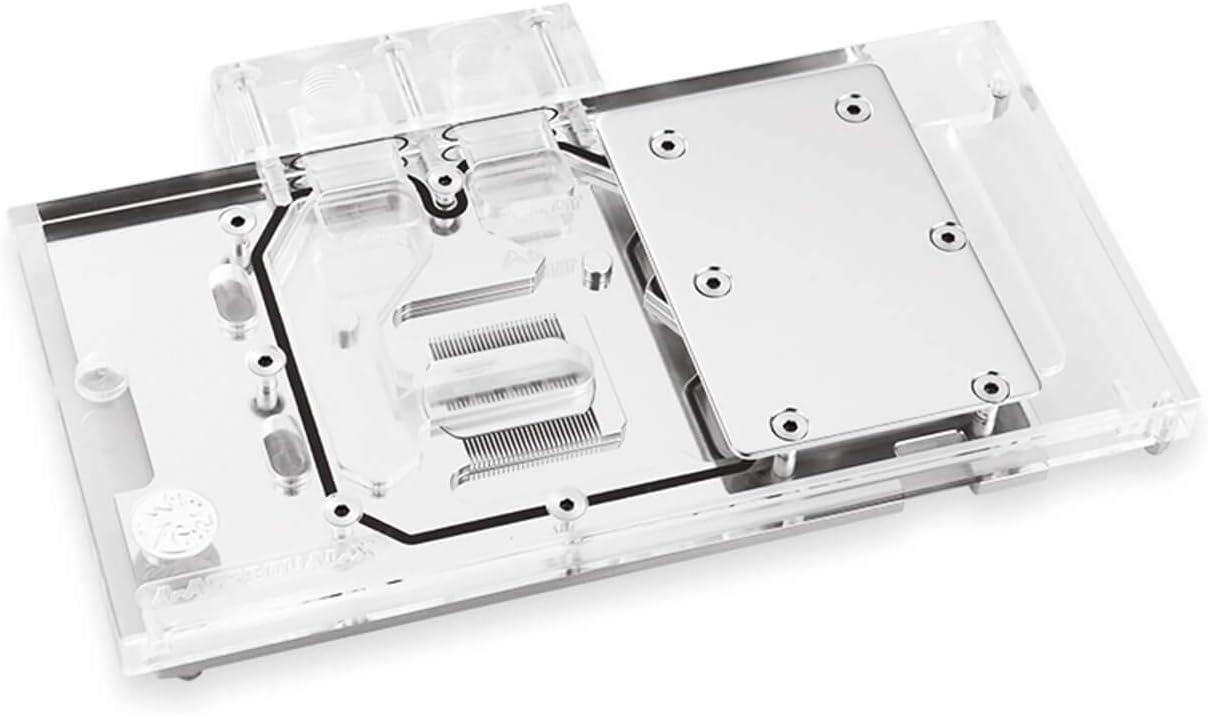 Bykski ASUS RX580 Dual O8G Full Coverage GPU Block - Clear (A-AS58DUAL-X)