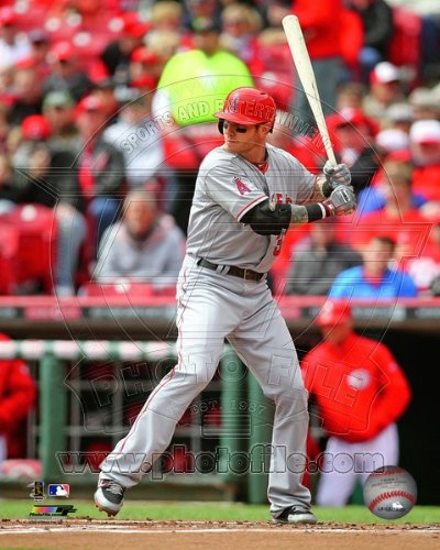 Josh Hamilton Los Angeles Angels 2013 MLB Action Photo 8x10 #3 (Josh Hamilton Photograph)