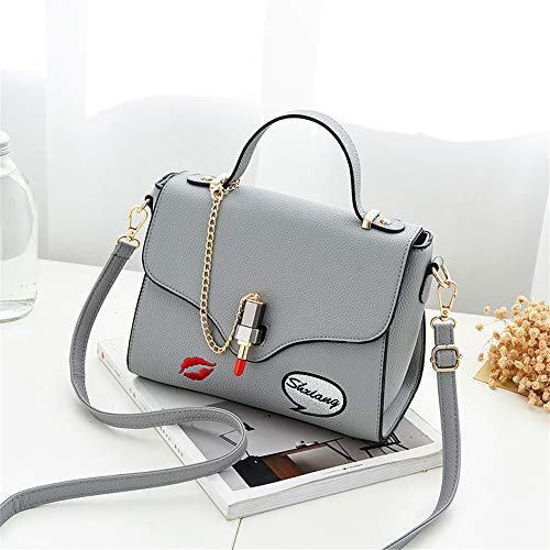 main de sac mode à main sac sac à d'épaule personnalisée main à broderie Mme Messenger LANDONA sac nouvelle gris coréenne sacs chute sac de Wnf1pHn