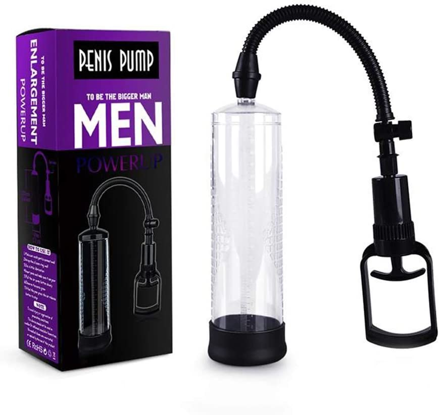Pēnnîs Vacuum Pump for Men, Easy Operation with T-Grip of Cylinder Seals