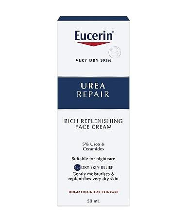 Crema facial de Urea.