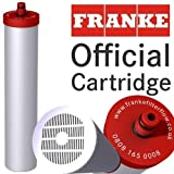 Genuine Franke Carbon Dealk (new code Franke 05) water filter cartridge. Only cartridges with red mounts are officially Franke!
