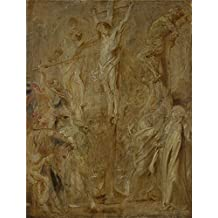 'Peter Paul Rubens The Coup de Lance ' oil painting, 20 x 26 inch / 51 x 67 cm ,printed on polyster Canvas ,this Reproductions Art Decorative Canvas Prints is perfectly suitalbe for Study artwork and Home decor and Gifts