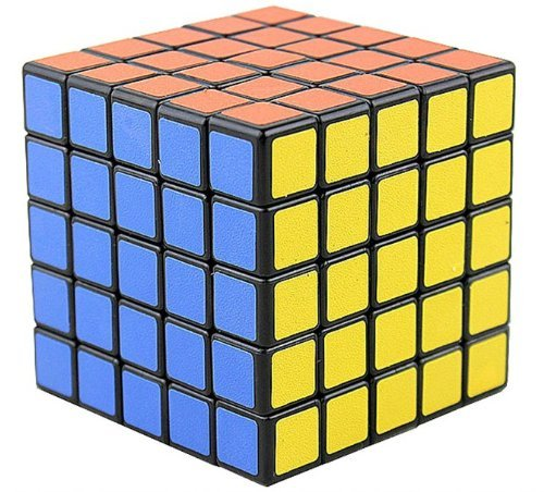 New Shengshou 5x5x5 Speed Ultra-smooth Magic Cube Puzzle Twist 5x5 Black