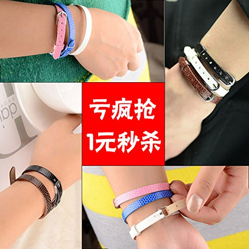 Korean fashion candy color imitation crocodile leather wristband bracelet hand with hand ring male and female couple jewelry trinkets
