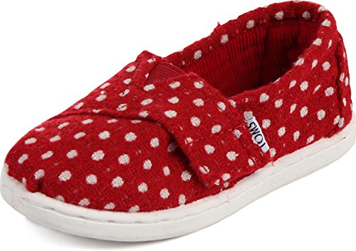 73990f15344 Toms Red Wool Dot Tiny Classics 10003590-RED (SIZE  10D) - Buy Online in  UAE.