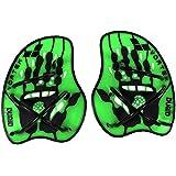 arena Unisex Schwimm Wettkampf Trainingshilfe Hand Paddle Vortex (Ergonomisch, Für Kraft- und Techniktraining)