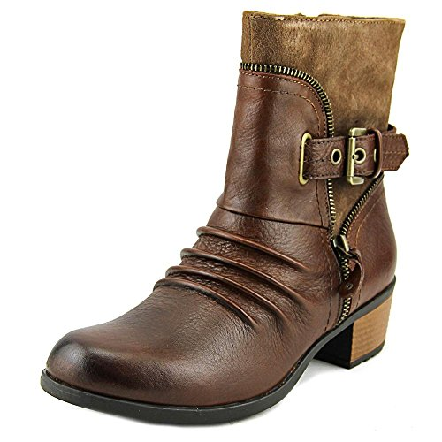 Earth Origins Dolly Women US 7 Brown (Dolly Ankle Boot)