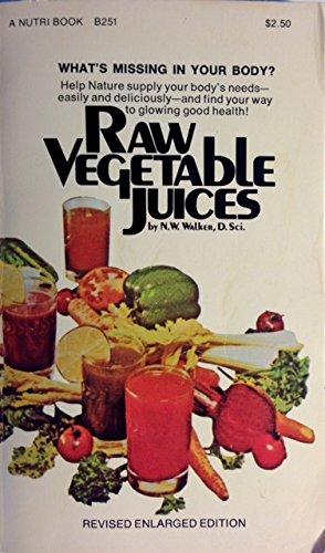 Raw Vegetable Juices