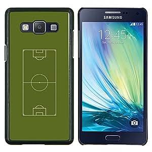 Stuss Case / Funda Carcasa protectora - Fútbol Campo de fútbol - Samsung Galaxy A5 A5000